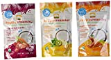 Happy Creamies Organic Superfoods Veggie & Fruit Snacks With Coconut Milk Variety Pack of 6