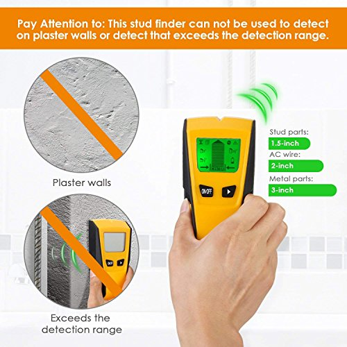 Stud Finder Electric Detector Center Edge Finding Wall For