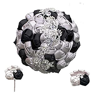 Artificial Rose for Wedding Dancing Party Bride Bouquet Groom Boutonniere Wrist Corsage Bridal Holding Flowers 2216-T 69
