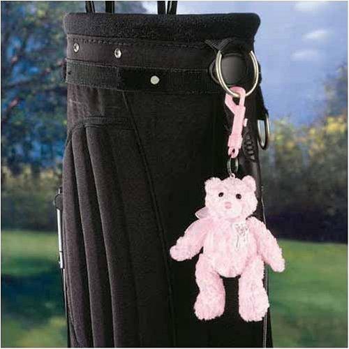 - Gund Pink Ribbon Bear Clip On Mascot