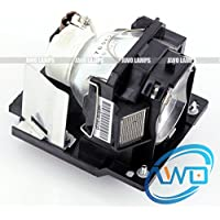 AWO DT01091 / CPD10LAMP Premium Replacement Lamp with Housing for HITACHI Projectors CP-D10