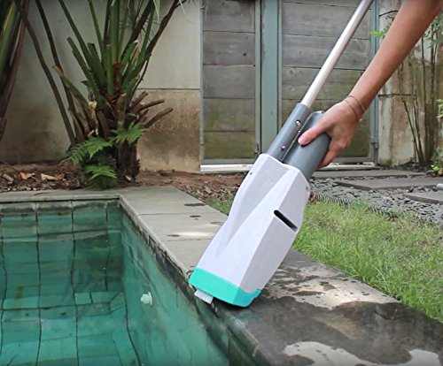 Kokido Telsa 10 Rechargeable Handheld Pool Vacuum for Small Pools |  EV10CBX/US - Automatic Pool Cleaner