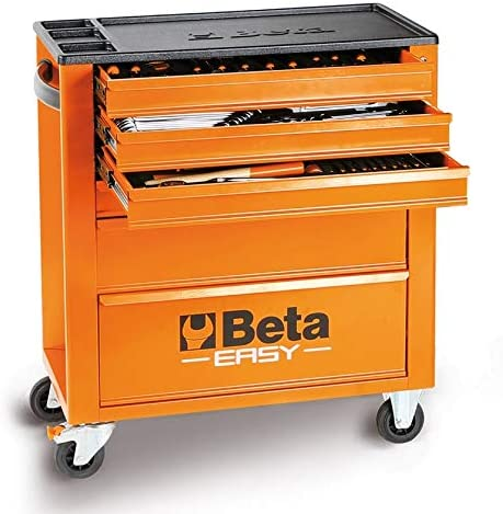 Cajonera Beta Easy C24E/VI surtido 182 herramientas + carro taller: Amazon.es: Bricolaje y herramientas