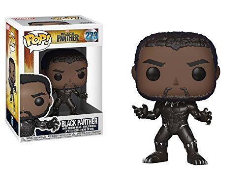 Funko POP! Marvel: Black Panther Movie - Black Panther (Styles May Vary) Collectible Figure
