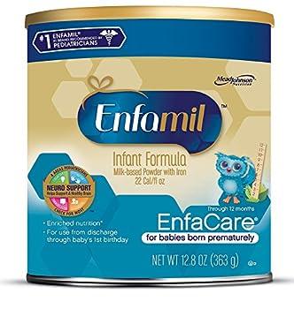 Enfamil Enfacare Infant Formula, Powder, 12.8 Ounce, Pack Of 6 0
