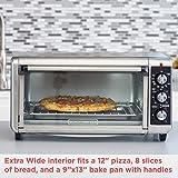 BLACK+DECKER TO3250XSB 8-Slice Extra Wide