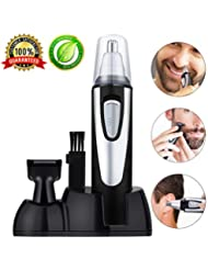 Nose Hair Trimmer for Men and Women 2 in 1 Professional...