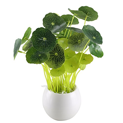 Cheap  GTIDEA Fake Potted Plants Artificial Chinese Money Plant Bonsai Plastic House Plants..