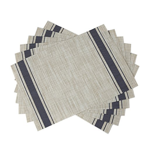 SiCoHome Placemats Kitchen Office Outdoor