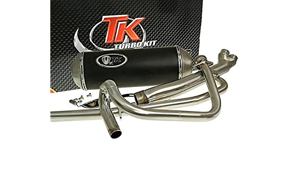 Amazon.com: turbo Kit Exhaust 2-in-1 X-Road – For HYOSUNG GT 125 N E3 (Naked): Automotive
