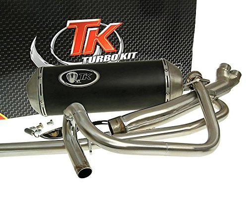 Naked Auspuff TURBO KIT 2-in-1 X-Road HYOSUNG GT 125 N