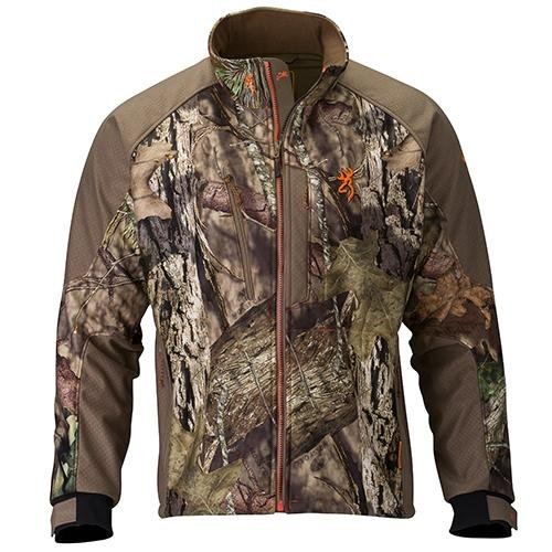 Browning Hell's Canyon Soft Shell Jacket, Mossy Oak Break-Up Country, X-Large