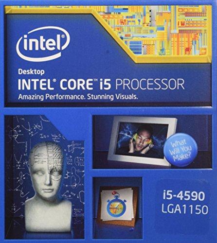 Intel Core i5-4590 Desktop CPU Processor- SR1QJ