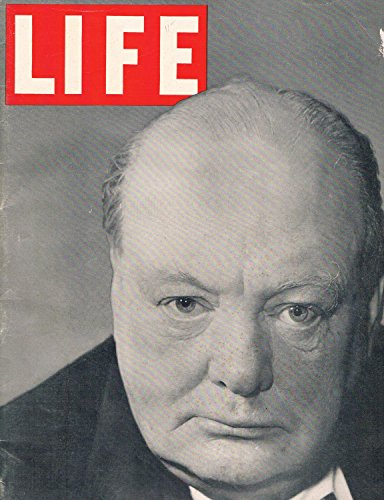 1940 Magazine - LIFE MAGAZINE of April 29, 1940 with Winston Churchill on the cover. THEATER: 'Lades in Retirement'. Dartmouth.