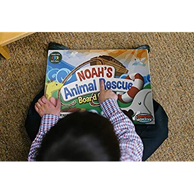 Jumping High Five Noah's Animal Rescue! Kids #1 Cooperative Matching Game for Kids Ages 4 and Up - Teach Children New Skills While Having Fun - Hot Toys for 2020. Learning Board Games Ages 4 to 8.: Toys & Games