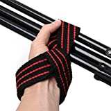 FoodKing Weight Lifting Training Gym Straps Wraps Hand Power Protection Wrist Support Bar