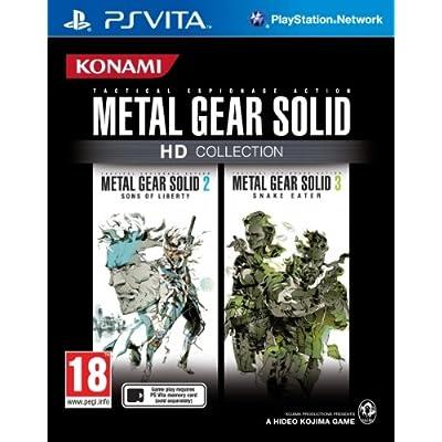 Konami Metal Gear Solid - Juego (PSV, PlayStation Vita, Acción / Estrategia, SO (Sólo Adultos), PlayStation Vita)