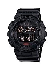 "Casio - Men's G-Shock - ""Military Black Series"" - Black - GD120MB-1"