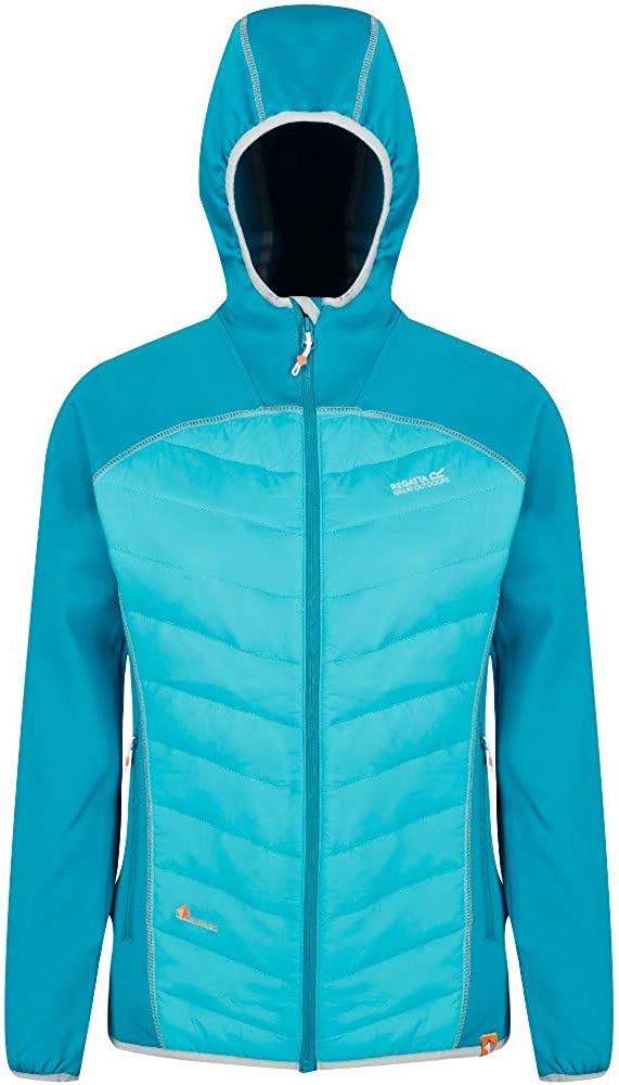 Regatta Andreson IV Lightweight Insulated And Water Repellent Hybrid Down Giacca Donna