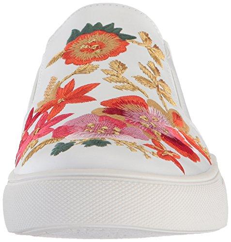 Nanette Lepore Womens Whimsical Sneaker Ricamo Bianco