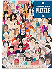 Talking Tables Inspirerende vrouwenpuzzel van 1000 stukjes met bijpassende poster en trivia-vel   Kleurrijk geïllustreerd ontwerp, verjaardagscadeau, feministische cadeaus voor haar