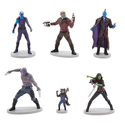 Marvel Guardians of the Galaxy Vol. 2 Figurine Set - Disney Guardians Of The Galaxy