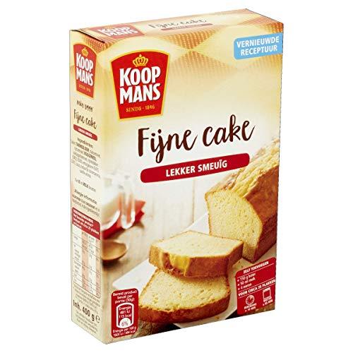 Koopmans Fijne cake – de basis voor iedere luchtige cake – bakmix voor 1 cake (400 g)