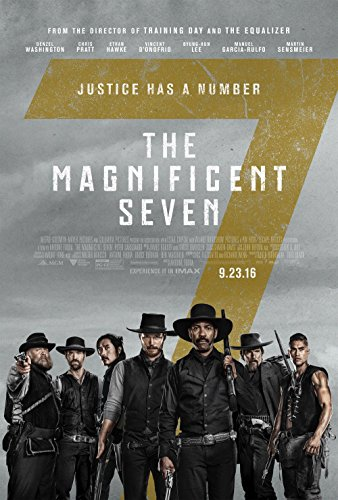 "Magnificent Seven ""B"" 11x17 Inch Promo Movie Poster"
