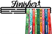 United Medals Finisher Sports Medal Hanger Display   Steel Holder Rack (3 Hang Bars up to 60 Medals)   Wall Mo