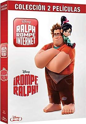 Pack Bd Rompe Ralph 1+2 [Blu-ray]: Amazon.es: Personajes animados ...