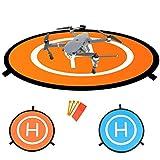 Drones Landing Pad,Homga Universal Waterproof D 75cm/30'' Portable Foldable Landing Pads For RC Drones Helicopter, PVB Drones, DJI Mavic Pro Phantom 2/3/4/ Pro, Antel Robotic, 3DR Solo & More