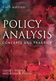 img - for Policy Analysis: Concepts and Practice book / textbook / text book