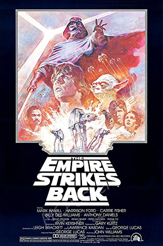MCPosters Star Wars The Empire Strikes Back Classic GLOSSY FINISH Movie Poster - MCP209 (24
