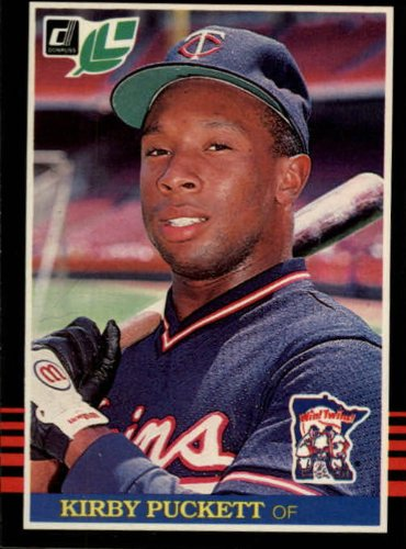 1985 Leaf/Donruss Baseball Rookie Card #107 Kirby Puckett ()