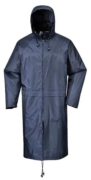 Fabric X-Large Navy Portwest S438NARXL Classic Rain Coat