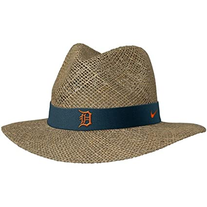 Amazon.com   Nike Detroit Tigers Straw Hat   Baseball And Softball ... eefd2c7417a