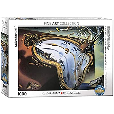 EuroGraphics Soft Watch At Moment of First Explosion (Melting Clock) by Salvador Dali 1000 Piece Puzzle: Toys & Games
