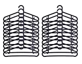 IKEA Hangers Flexible Sturdy Black (20 Pack)