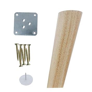 Sourcingmap - Patas de madera para muebles, sofás, sillas ...