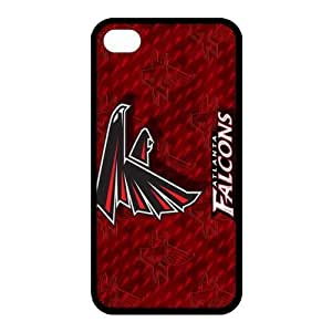 Custom Atlanta Falcons NFL Back Cover Case for iphone 4,4S JN4S-1207 by ruishername