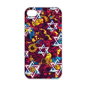 Art Designed Star of David Image Made for iPhone 6 plus 5.5 Only Case Cover Laser Technology 100% TPU