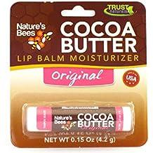 Nature's Bees Cocoa Butter Lip Balm Moisturizer - 0.15 oz. - (Original)