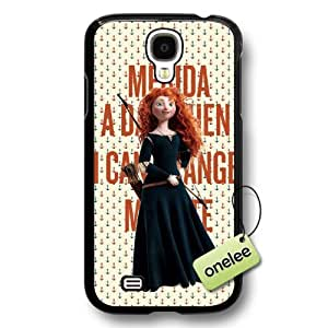 Disney Brave Princess Merida Hard Plastic Phone Case & Cover for Samsung Galaxy S4 - Black