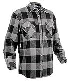 extra large shirts - Rothco Extra Heavyweight Buffalo Flannel Shirts, Grey Plaid, 3X-Large