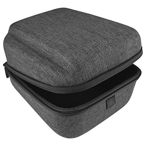 Geekria Hardshell Headphone Case for Audio-Technica ATH-M50X, ATH-M50xBT, ATH-M50, ATH-M40X, ATH-M40FS, ATH-M35, ATH-M30, Audio-Technica ATH-M70x Pro Headphones Carrying Case (Deep Gray)