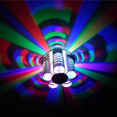 3 W LED cambio de color RGB lámpara de pared/techo montaje ...