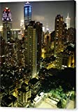 ''Inland View Of Hong Kong With Soccer'' by National Geographic, Canvas Print Wall Art, 16'' x 20'', Mirrored Gallery Wrap, Glossy Finish