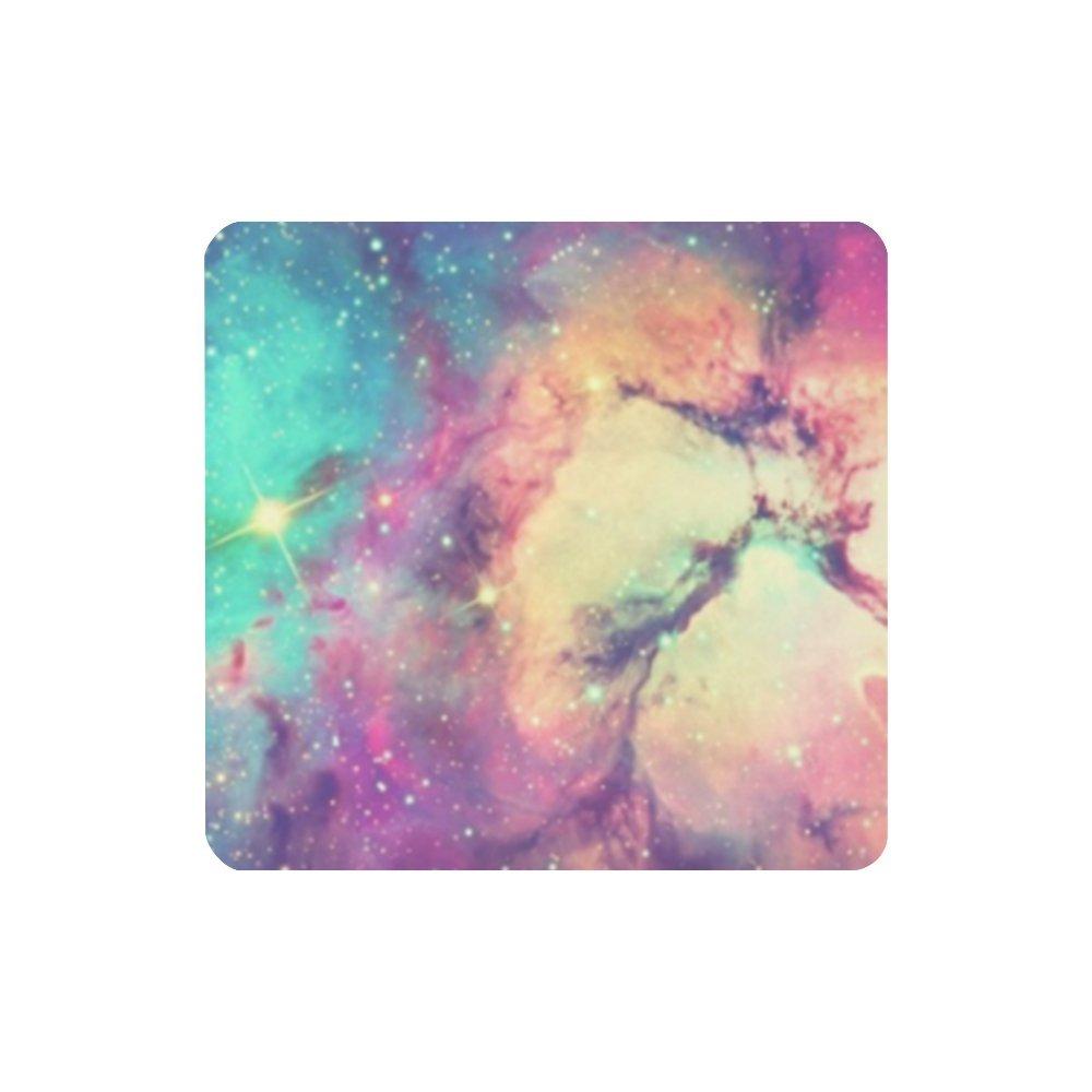 W-3 HOMEDECOR De la Mujer Custom Colorful Galaxy fondos ...