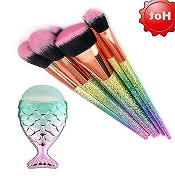 0c7623941006 Amazon.com: Kaputar Pro Kabuki Makeup Cosmetic Eyeshadow Brushes Set ...