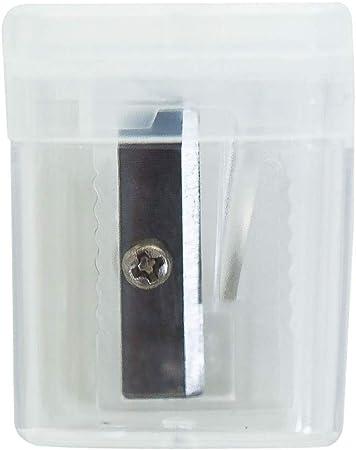 DAB Sacapuntas Manual, sacapuntas portátil con Estuche de plástico Transparente y Cuerpo Compacto y liviano, fácil de Llevar, Adecuado for Llevar a Cabo: Amazon.es: Hogar